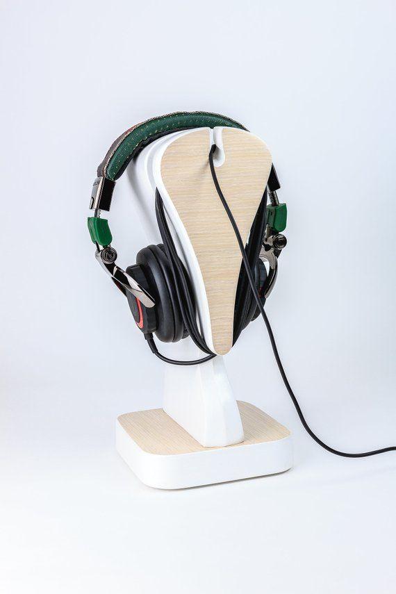 Stojak Na Sluchawki Gambit V Audio Organizacja Etsy Headphones Electronic Products Headset