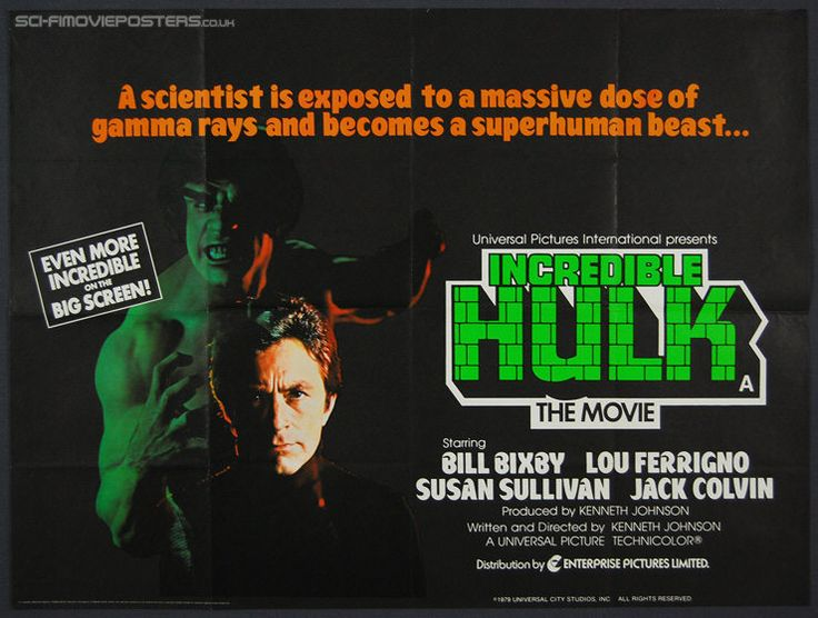 "There has been several actor who have played Bruce or David Banner in recent years but for many of us Marvel fans the real Bruce Banner was the late Bill Bixby. We are paying tribute to Bill Bixby at our Marvel TV, Movies and more where you can buy all of the Bill Bixby Increible Hulk episodes including the tv movies ""Incredible Hulk Returns and The Trial of the Incredible Hulk"". So Hulk fans get your Bill Bixby on at http://tomatovisiontv.wix.com/tomatovision2#!marvel-tv-and-movies/c15nv"
