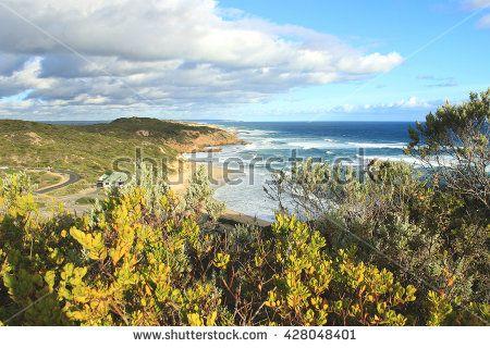 Sorrento beach before the sunset, Mornington Peninsula, Victoria, Australia