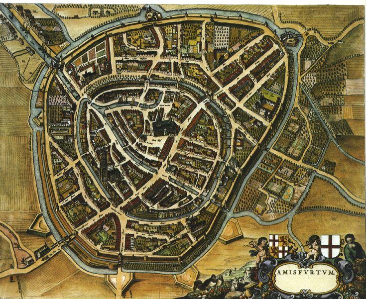 Amersfoort, Netherlands map (Rugertson Garrettson)