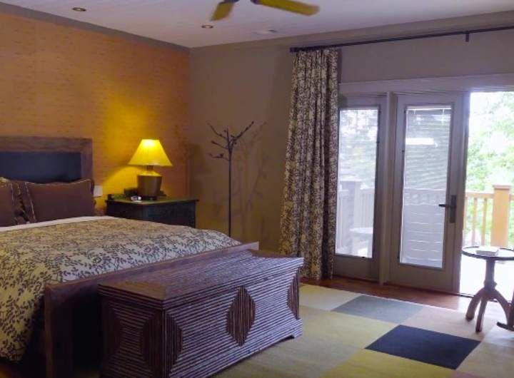потолок в маленькой спальне