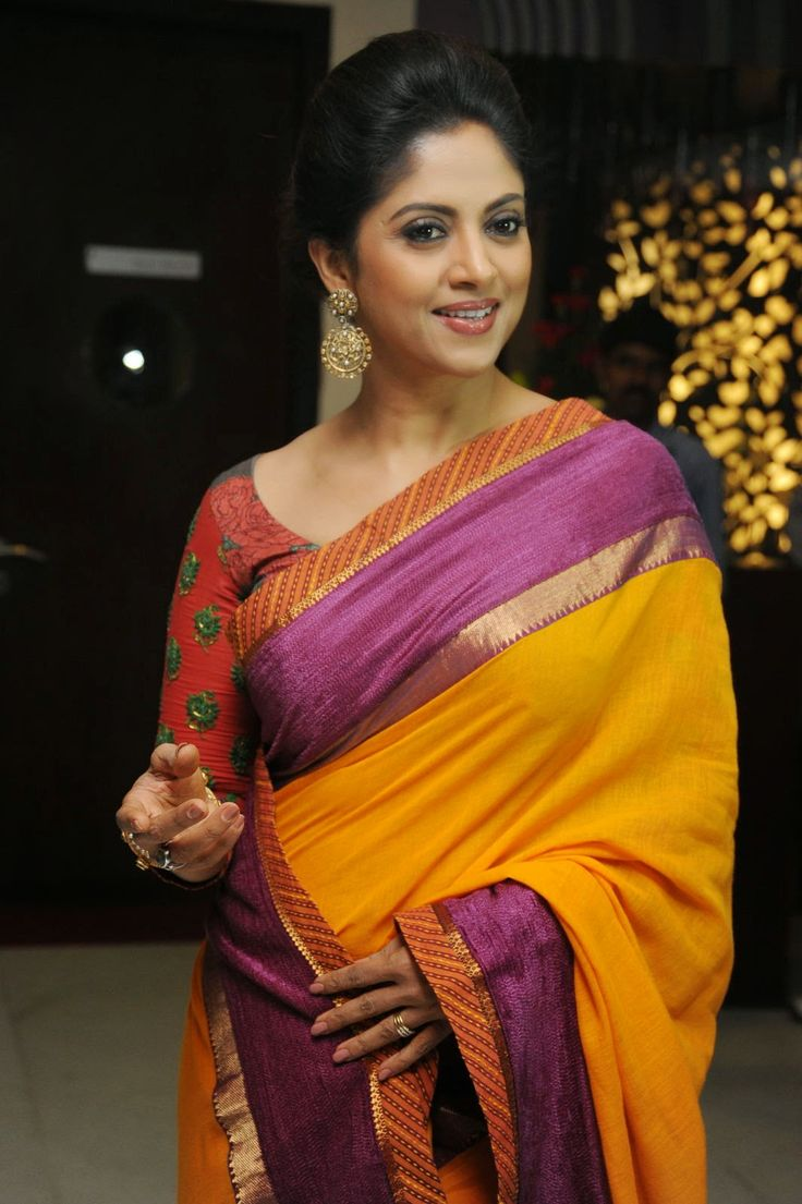 Beautiful Nadhiya Latest Photos in Saree | ActressFoto ...
