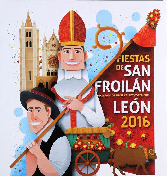 Información de los actos y programa de las fiestas de San Froilan en León de 2014 con sus horarios.