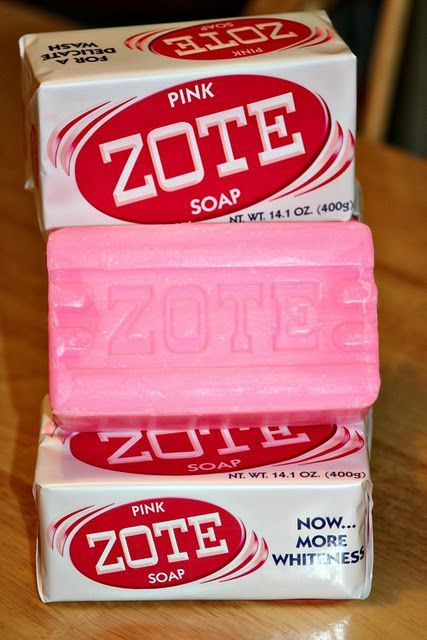 FINALLY! A recipe for ZOTE laundry soap. uuuh, and I don't even know what this is. Never heard of it.