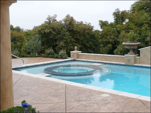 Images Of Inground Gunite Pools Hot Tub Design Inground