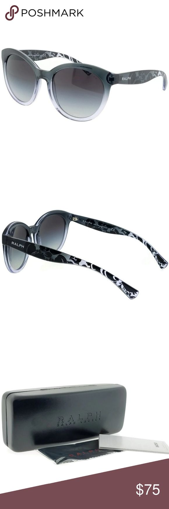 RA5211-151111 Oval Women's Grey Frame Sunglasses New gorgeous Ralph Lauren RA5211-151111 grey frame with grey lens and 53mm sunglasses with stylish look. The Ralph Lauren brand has been creating sophisticated and timeless styles since its inception in 1970. Ralph Lauren designs celebrate the refined luxury and understated elegance that is at the heart of American fashion. Ralph Lauren makes eyewear that is attractive and elegant, and Ralph Lauren distinctive luxury is reflected in every…