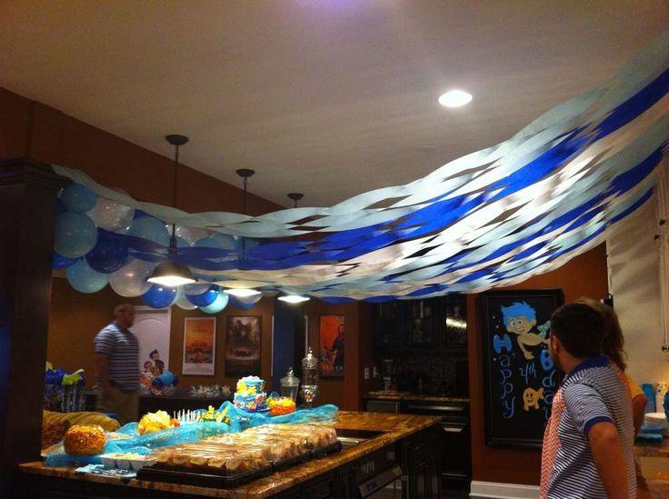 Bubble Guppies Birthday Party Ideas   Photo 24 of 25
