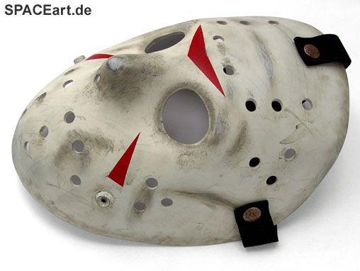 Freitag der 13. (Teil 3): Jason Voorhees Maske, Fertig-Modell ... http://spaceart.de/produkte/fdd001.php