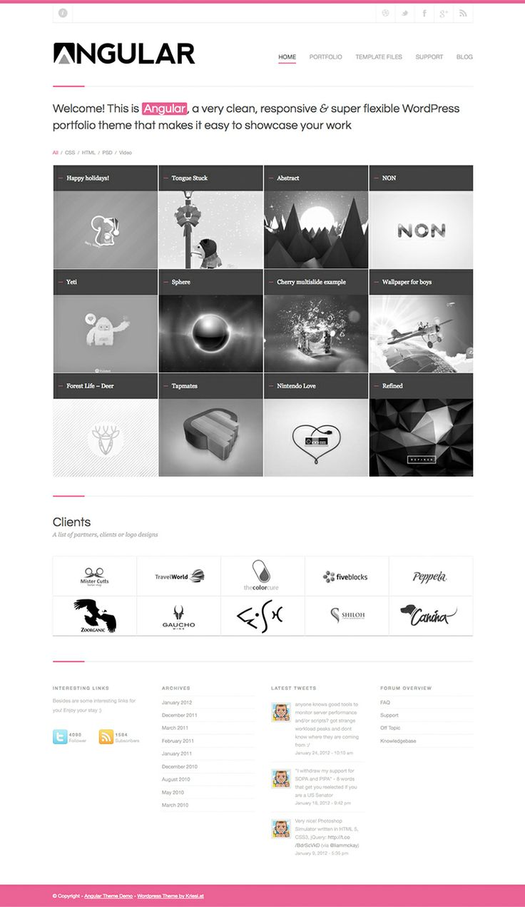 14 best Minimalist Business Templates images on Pinterest | Business ...