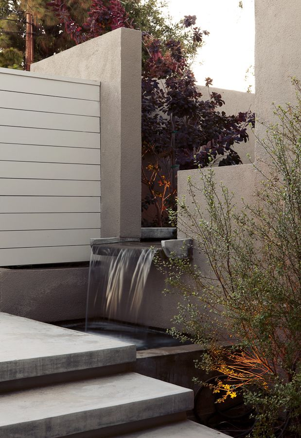 lovely wall cut out water feature