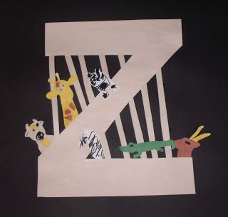 zebra craft ideas 25 best ideas about letter z crafts on abc 3282