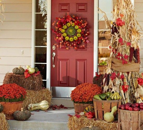 Incroyable The Fall Harvest Inspires This Front Entry. (Photo: Better Homes And Gardens )