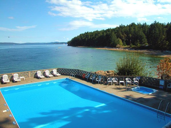 Breathtaking views and a chance for a pool dip