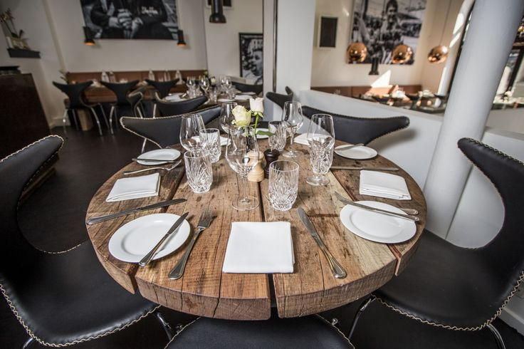 DOLPHIN CHAIRs at famous fish cuisine- and seafood restaurant in Copenhagen #restaurantumage #umage #restaurant #classicfuniture #dolphinchair
