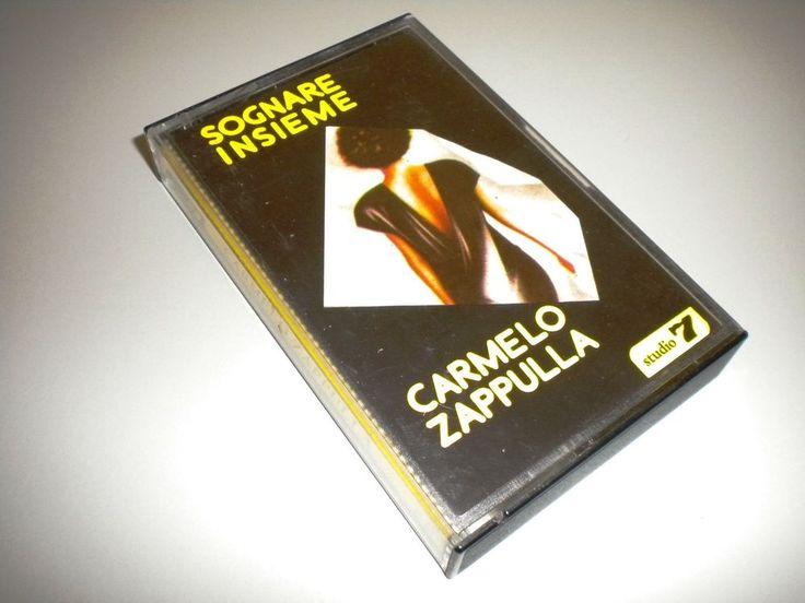 MC MUSICASSETTA CARMELO ZAPPULLA – SOGNARE INSIEME