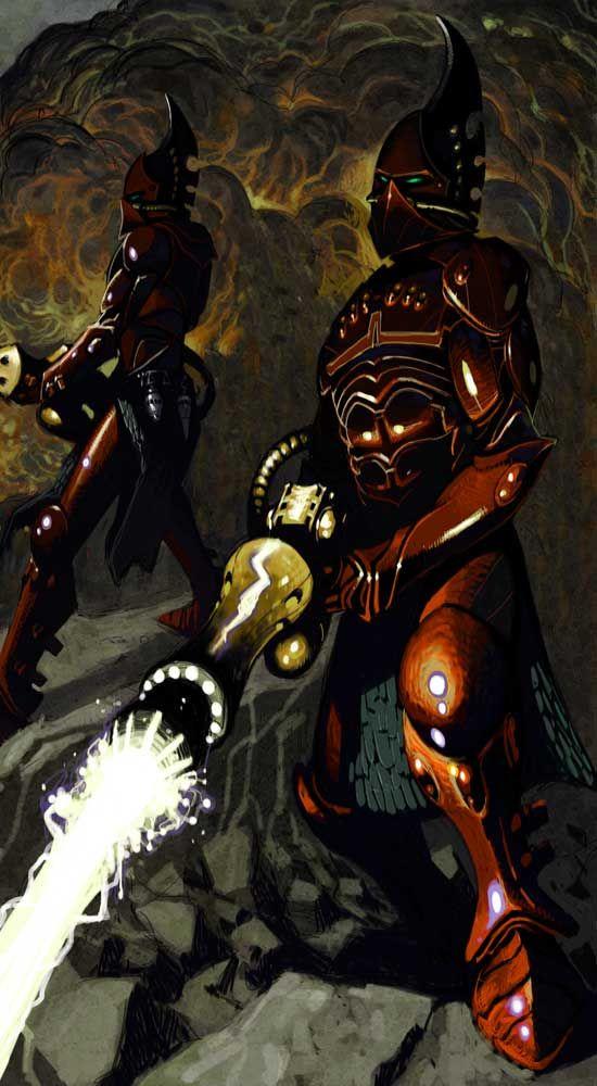 Tiernen Trevallion - Warhammer 40000 - Eldars