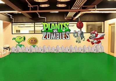 18 best parties plants vs zombies images on pinterest for Decoracion con globos plantas contra zombies
