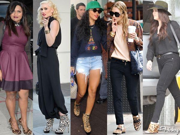 Celeb Street Style Spotlight: Leopard Print Shoes
