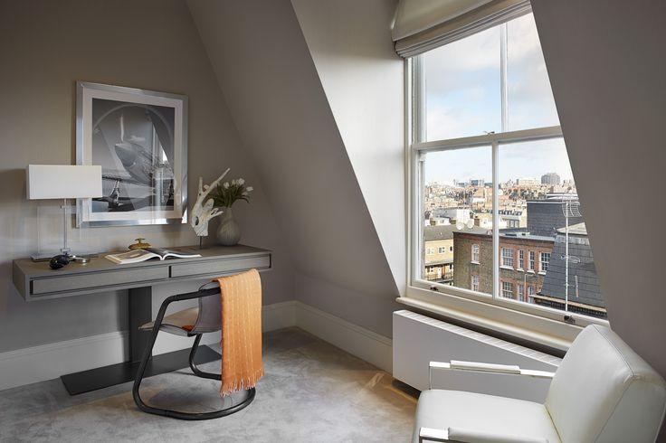 Study & Bedroom designed by Talia Cobbold Cadogan Court Development