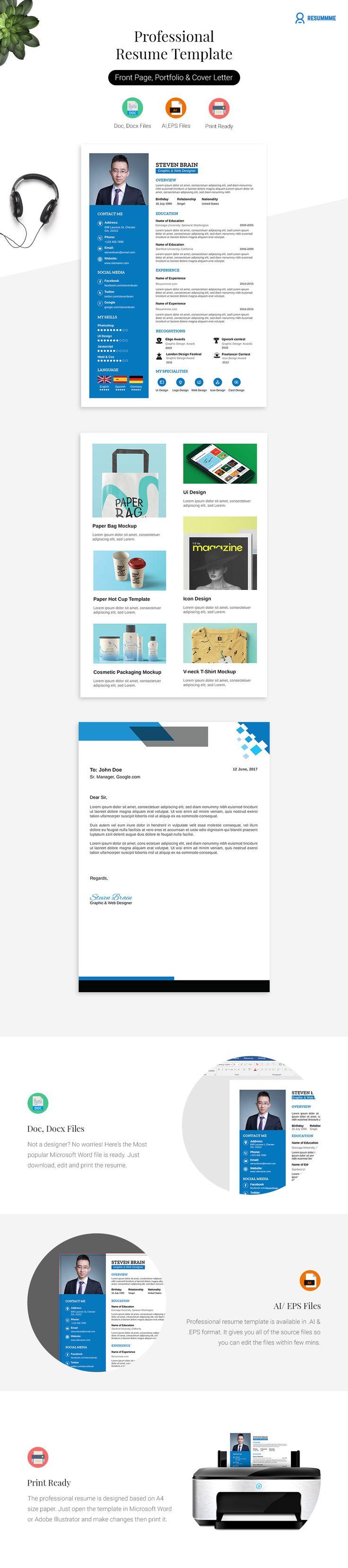 best 25  professional resume template ideas on pinterest