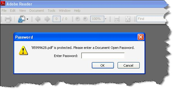 Use It When You Don't Have Password Of The File