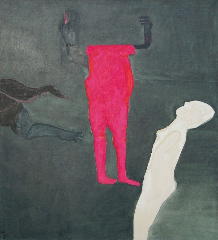 Teresa Pągowska - Dzień VI (z cyklu dni), 1969, olej na płótnie, 160 x 140 cm
