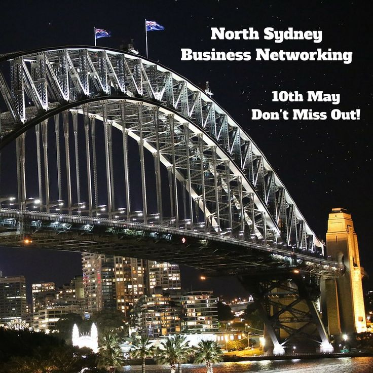 Want to increase your business network in the North Sydney area? Then come along to the free North Sydney Business Networking event at 8am on Wednesday 10th May.  #Sydney #NorthSydney #Events #Ausbiz #Networking #Entrepreneur