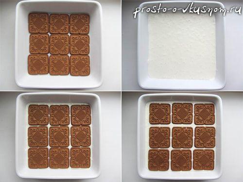 Торт из печенья-5