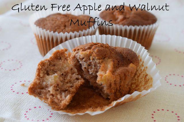 Gluten free Apple and Walnut muffin recipe
