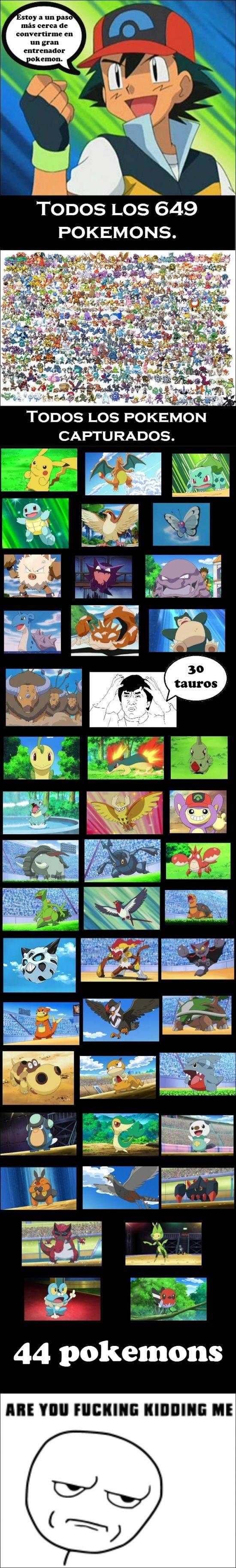 El trayecto de Ash como entrenador Pokémon deja un poco que desear        Gracias a http://www.cuantocabron.com/   Si quieres leer la noticia completa visita: http://www.estoy-aburrido.com/el-trayecto-de-ash-como-entrenador-pokemon-deja-un-poco-que-desear/