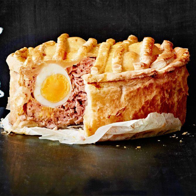 Skottilainen kananmuna-lihapiirakka - Soppa 365