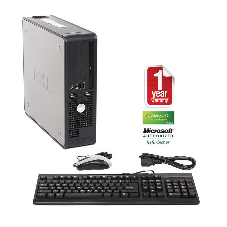 Dell OptiPlex 740 2.0GHz 2GB 250GB Win 7 SFF Computer