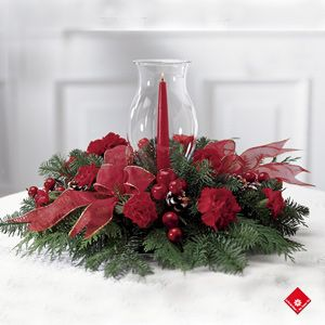 Centerpiece Christmas Pinterest
