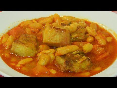 Receta de alubias blancas con costilla de cerdo         -          Recetas de cocina con sabor tradicional