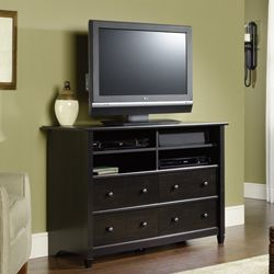 Edge Water Tall TV Stand - SAU-409242 and other TV Stands and Media Furniture