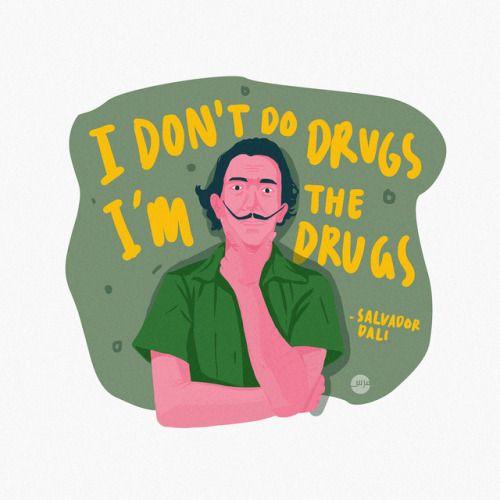 Salvador Dali's quote