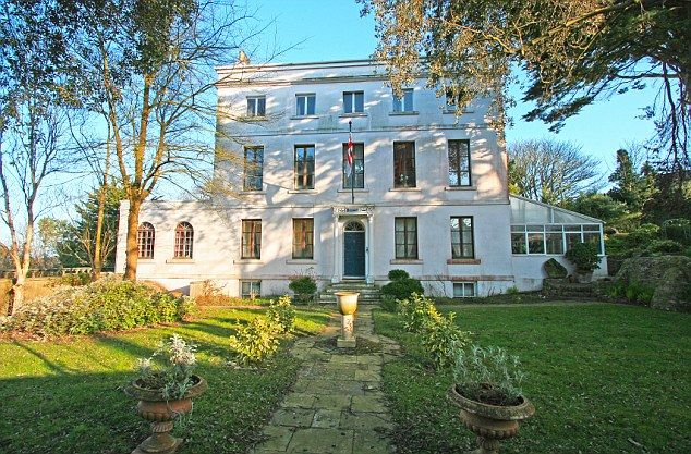 Fit for a president: Handsome Val des Portes which was the home of former president of Alderney, the late Jon Kay-Mouat