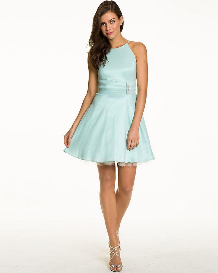 Taffeta Fit & Flare Dress - We love the lightweight & airy effect of this cotton taffeta dress.