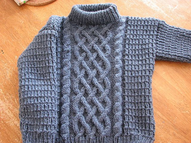 Free Pattern: Cables for Kids by Coats & Clark 2 - 12 years