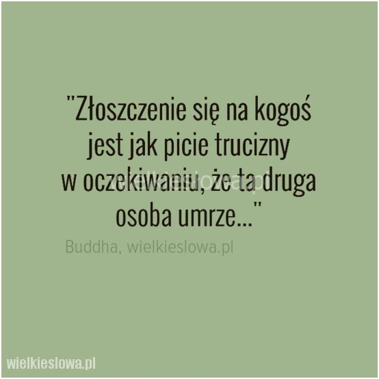 Złoszczenie się na kogoś jest jak picie trucizny... #Budda,  #Śmierć, #Złość-i-wściekłość