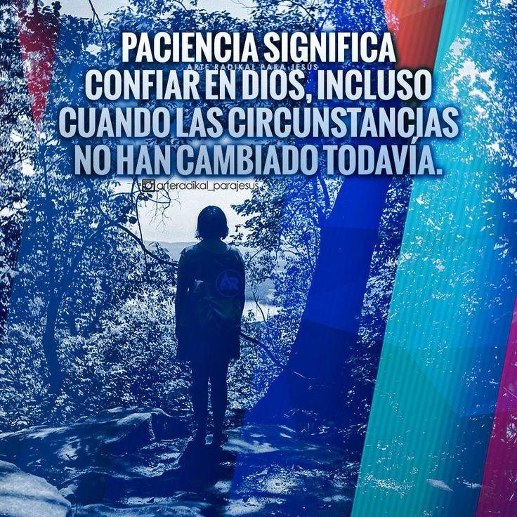 #paciencia #amor #Dios #palabras