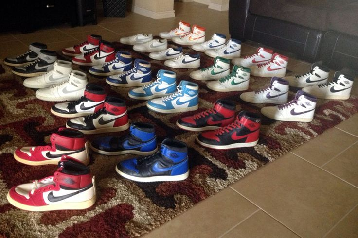 A Collection of Original Air Jordan 1s from 1985 is Up For Sale