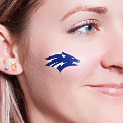 Make your own temporary face tattoos.   39 Clever Tailgating DIYs To Get You In The Spirit