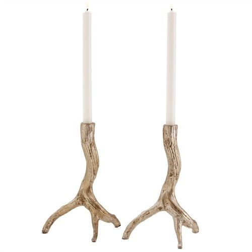 Adler Iron Candle Holders