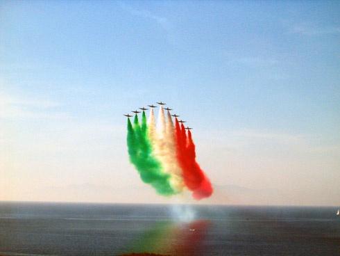 frecce tricolori sul mare (italy)