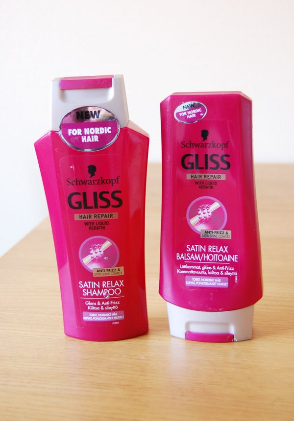 keratin shampoo och balsam