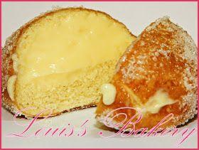 Louis's Bakery: Receta Berlinesas (Bombas) de Crema Pastelera Paso a Paso