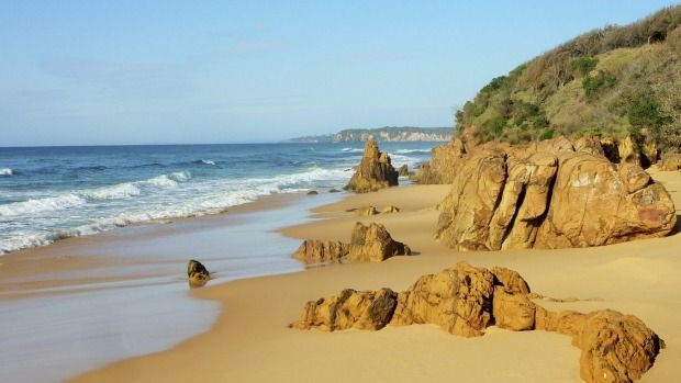 """Our intrepid explorer seeks out some of the best """"secret"""" south coast beaches he could find. Here are  his top five picks."""