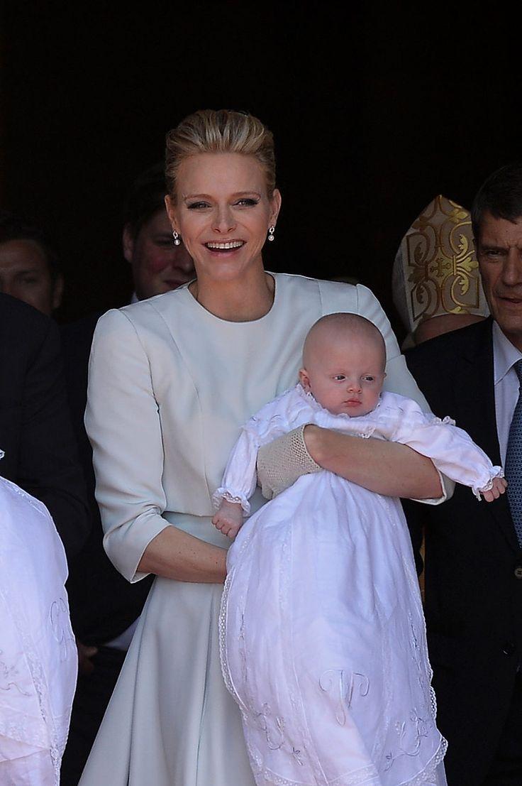 Las emotivas imágenes del bautizo real de Mónaco