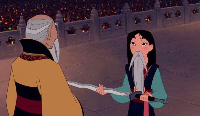 Quand Les princesses Disney se laissent pousser la barbe